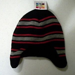 6217546f39a6d Other - Striped Healthtex Winter Fleece Lined Peruvian Hat